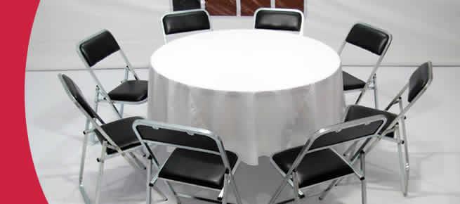 Renta alquiler de sillas y mesas gaona renta alquiler de for Mesas y sillas para bodegas